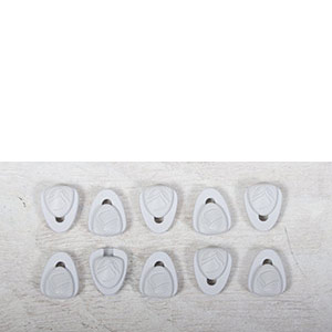 LACE LOCK WHITE - 10 PACK