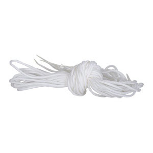 REPLACEMENT LACES WHITE - 10 PACK
