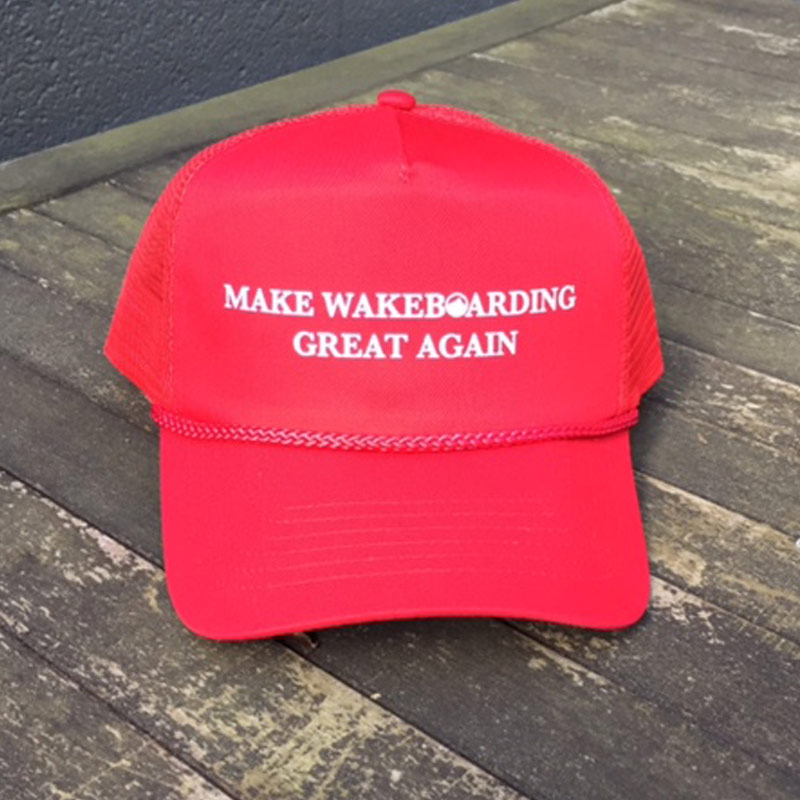 Make Wakeboarding Great Again Hat
