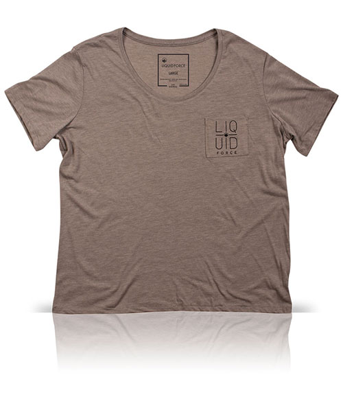 Womens Crosshair Pocket Tee